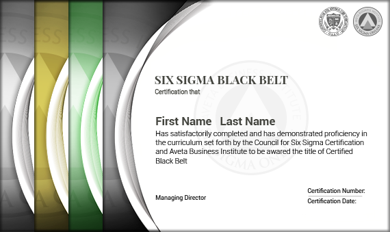Six Sigma Black Belt Training And Certification Six Sigma Council